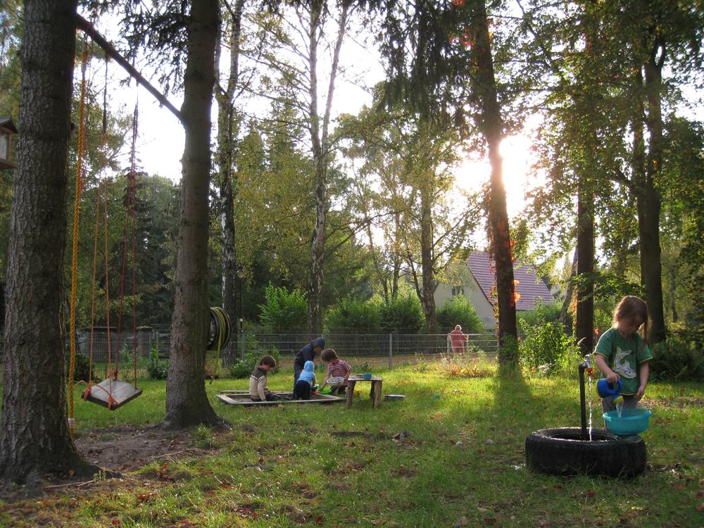 Kleine Villa am See ::Garten