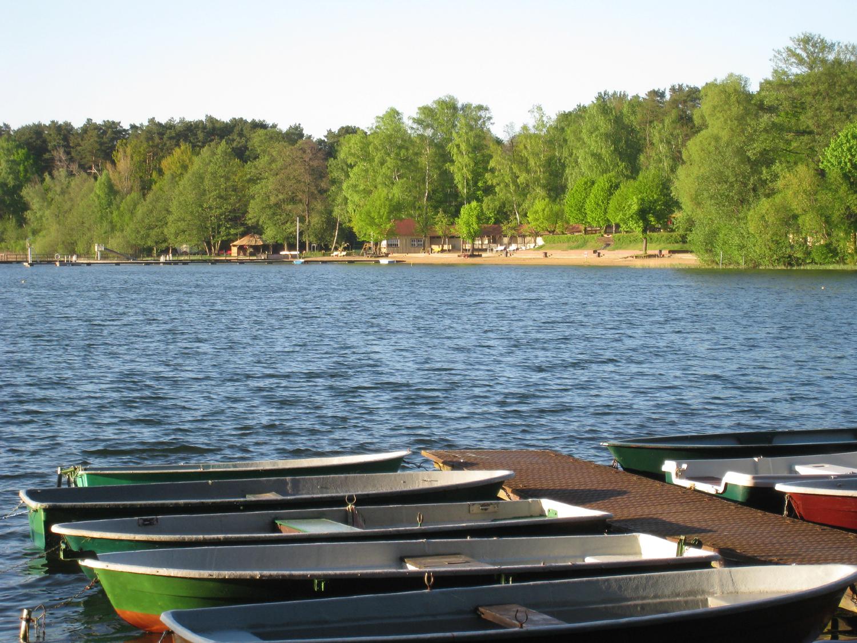 Kleine Villa am See